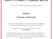 Referencje - elektrych Eltejot, Chotomów, Warszawa